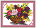 Cross Stitch Kits - Magnolia Flower
