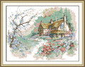 Cross Stitch Kits - Country Cabin