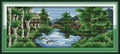Cross Stitch Kits - Summer Castle