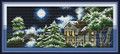 Cross Stitch Kits - Winter Castle