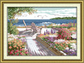 Cross Stitch Kits - Seaside Garden