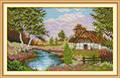 Cross Stitch Kits - Countryside Hut