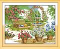 Cross Stitch Kits - Flowers Garden