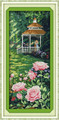 Cross Stitch Kits - Pink Flowers Garden