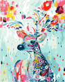 Colourful Deer