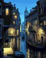 Evening Venice River