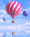 Blue Sky Hot Air Balloons