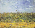 Wheat Field with a Lark by Van Gogh