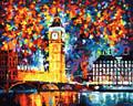 Colourful Big Ben