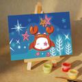 Cancer Star Sign Mini DIY Painting kit
