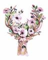 Lovely Flower Deer