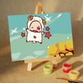 Aries Star Sign Mini DIY Painting kit