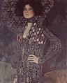 Portrait of Emilie Floge by Klimt