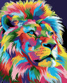 Colourful Lion King