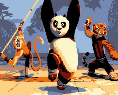 Kungfu Panda and Friends