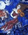 Female Blue Violinist