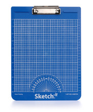 Blue Sketch-it Textured Clipboard