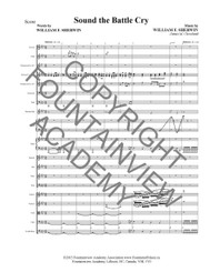 Sound The Battle Cry - Score and Instrumental Parts