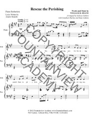 Rescue the Perishing - Piano Sheet Music