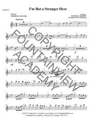 I'm But a Stranger Here - Score and Instrumental Parts