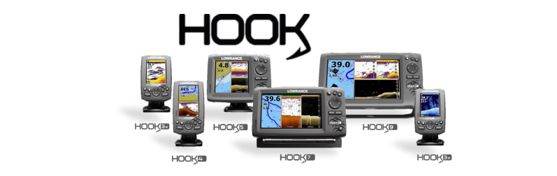 New lowrance hook series now available boating rv for Lowrance hook 7 trolling motor mount