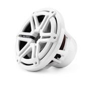"""M-Series Sport M-10 Infinite Baffle 10"""" Subwoofer White Front"""