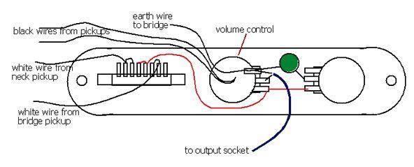 telecaster wiring diagrams. Black Bedroom Furniture Sets. Home Design Ideas