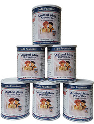 Six pack of 2.5 lb Malt Canisters