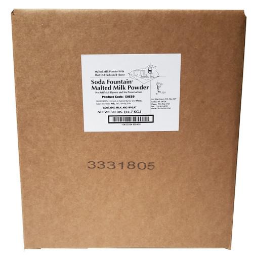 50 lb. Bag of Malt in a Box