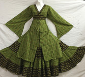 3 Piece Ghawazee Ensemble 8 Green