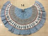 Hand Block Printed Skirt  #14