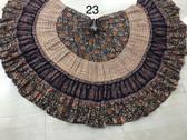 Hand Block Printed Skirt  #23