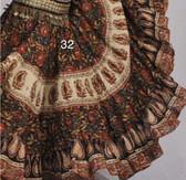 Hand Block Printed Skirt  #32