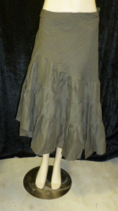 Beautiful Half Wrap Skirt Putty