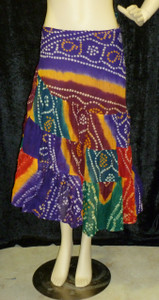 Beautiful Half Wrap Jaipur purple1