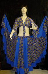 Beautiful Royal Blue Gypsy Set