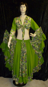 Beautiful Apple Green Gypsy Set