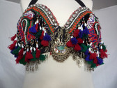 Tassels Galore Tribal Bra