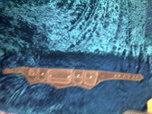 Steampunk multi pocket Suede Leather Pocket Belt