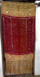 Brilliant  Banjara Veil with Sequins and Cowrie Shells! #11