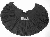 32  Yard Pure Cotton Skirt, BLACK