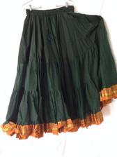 Aishwarya Glorious Green Skirt