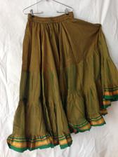 Aishwarya Opulent Olive Green Skirt