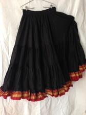 Charming Black Aishwarya Skirt