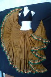 Charismatic Copper Aishwarya Skirt