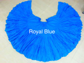 32 Yard Pure Cotton Skirt, Royal Blue