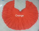 32 Yard Pure Cotton Skirt, Orange