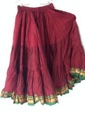 Marvelous Maroon Aishwarya Skirt