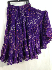 25 Yd  JAIPUR SKIRT ATS  PURPLE
