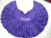 32  Yard Pure Cotton Light and Fluffy Skirt PURPLE
